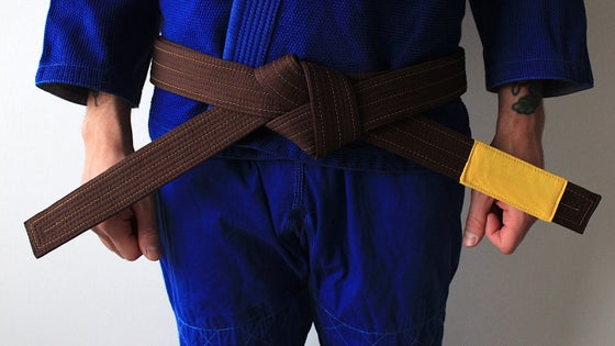Image of ( PRE ORDER ) JIU-JITSU OF ONE 結束 BROWN BELT