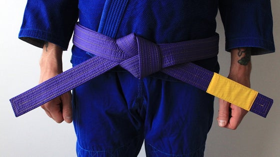 Image of ( PRE ORDER ) JIU-JITSU OF ONE 結束 PURPLE BELT