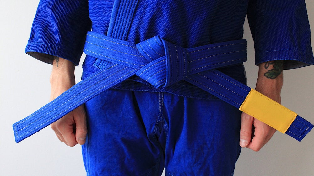Image of ( PRE ORDER ) JIU-JITSU OF ONE 結束 BLUE BELT