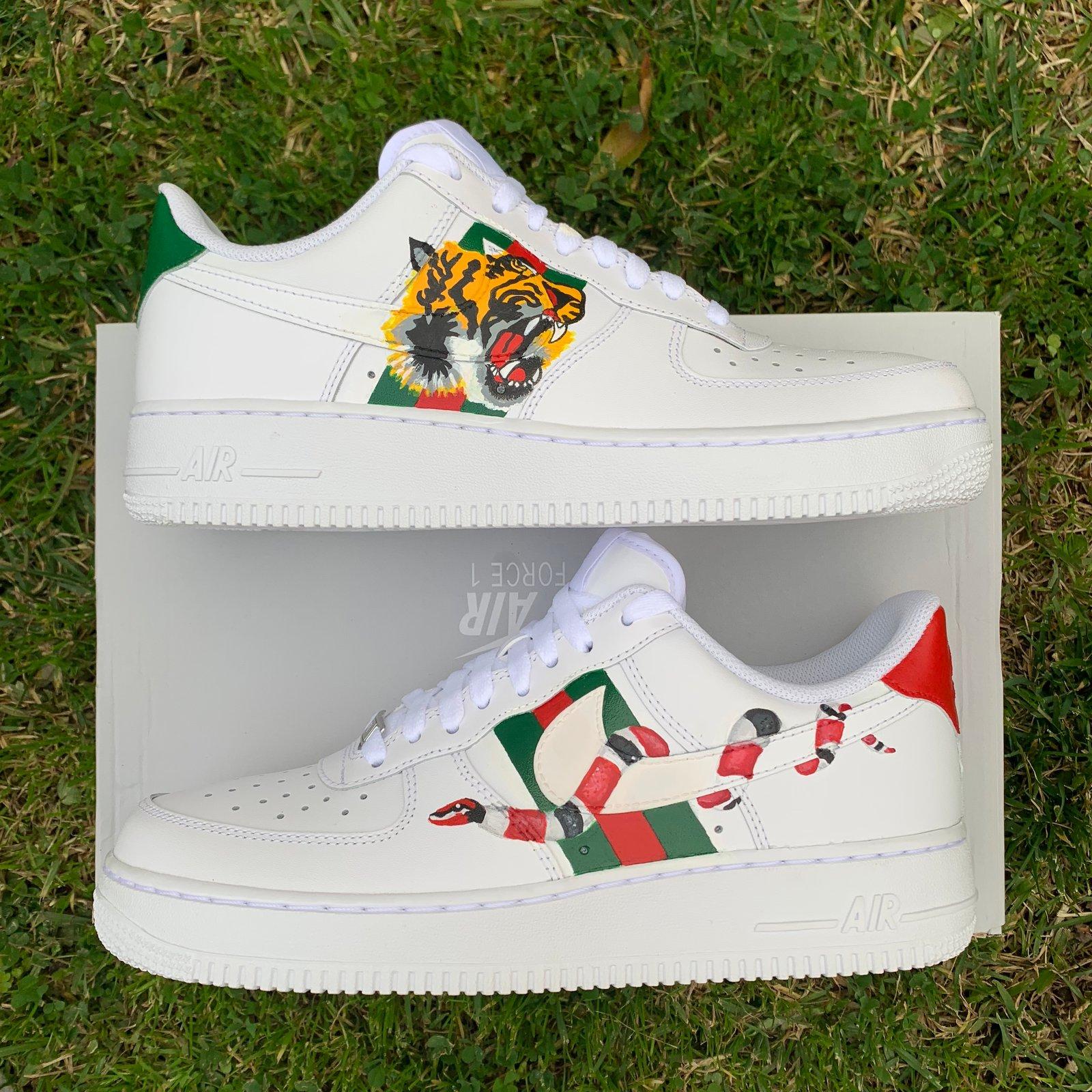 Gucci Nike Air Force 1 Custom