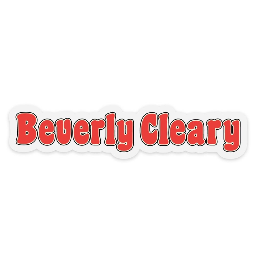 Image of Beverly Cleary sticker