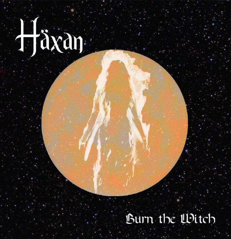 "Image of BURN THE WITCH 7"" black vinyl"