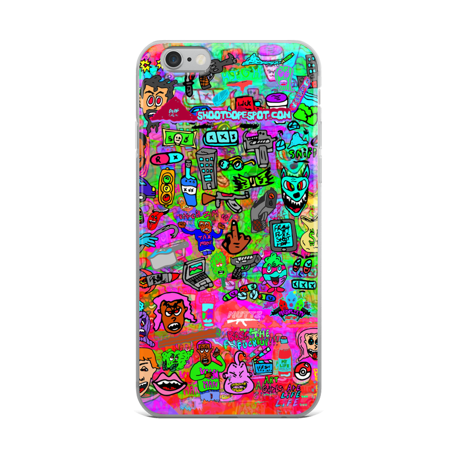 Image of Nutty WORLD iPhone Case