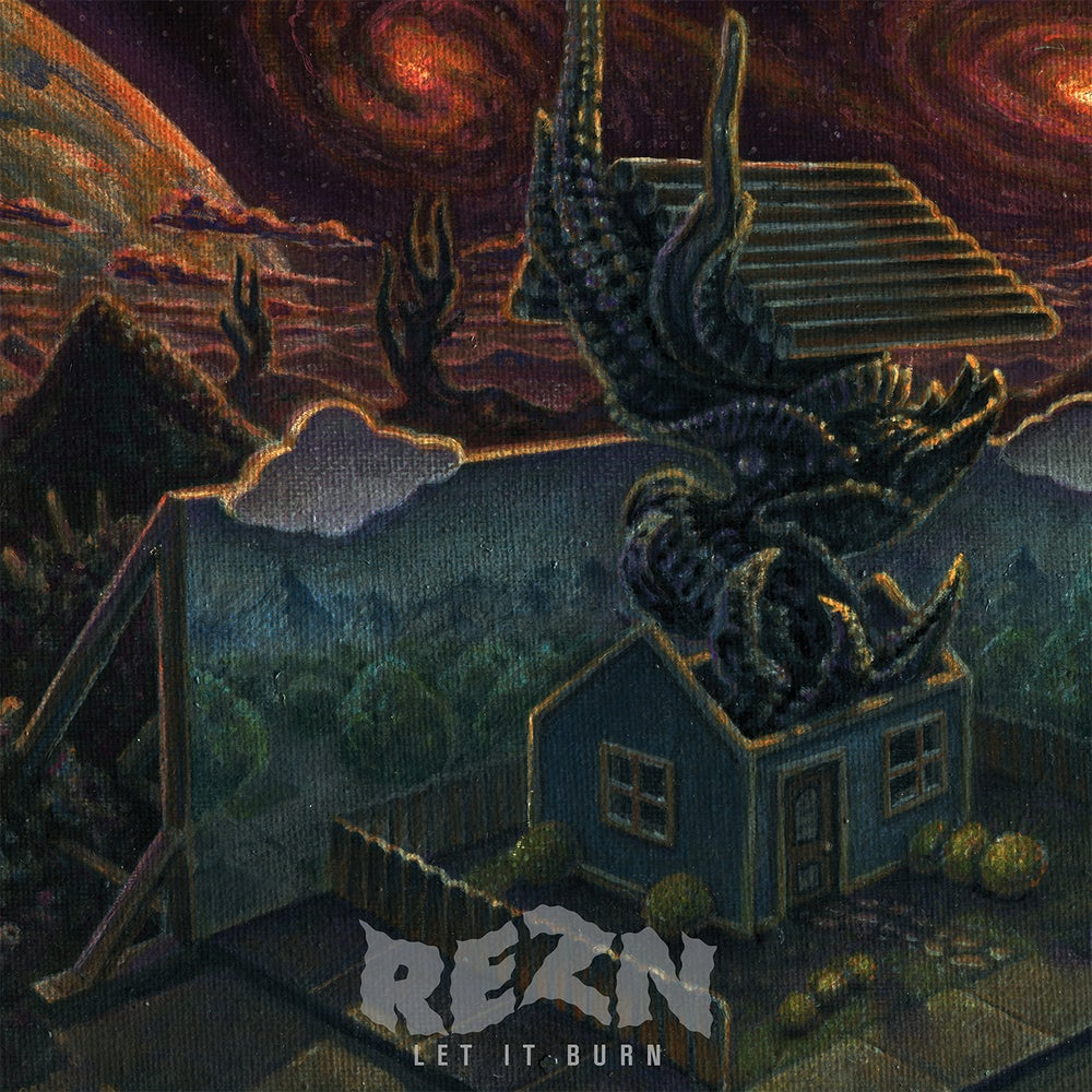 Image of REZN - Let it Burn. Limited Edition CD.