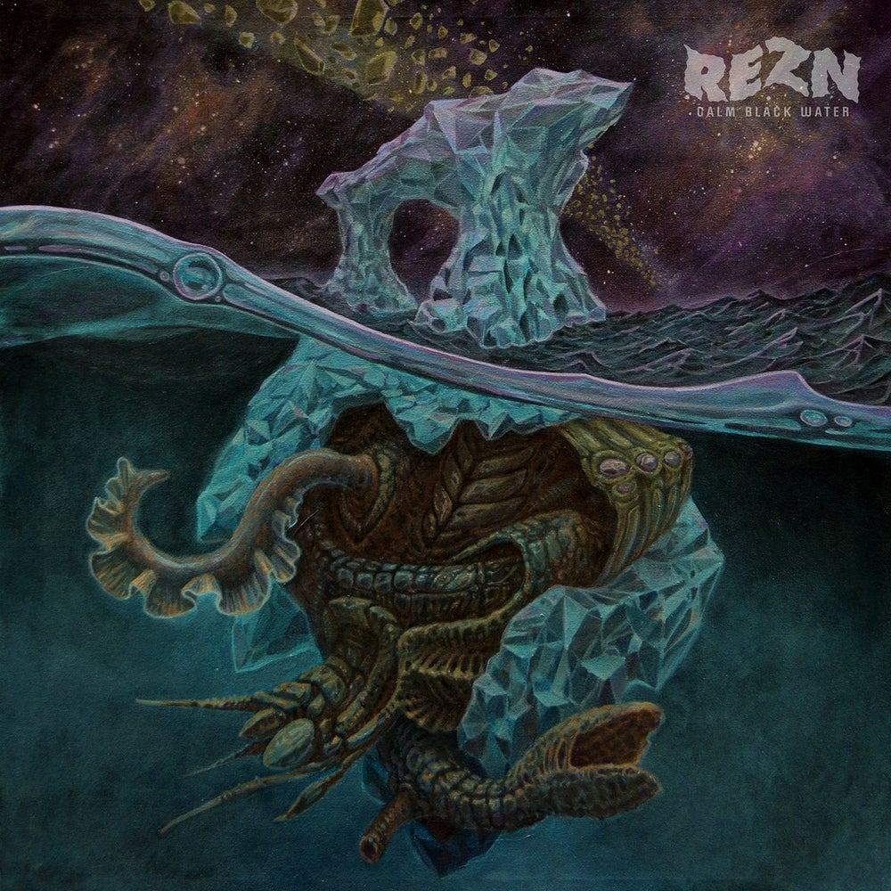 Image of REZN - Calm Black Water. Limited Edition CD.