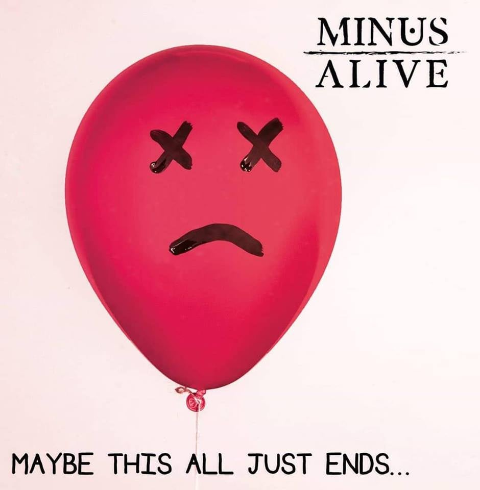 Image of 'Maybe This All Just Ends...' Physical EP