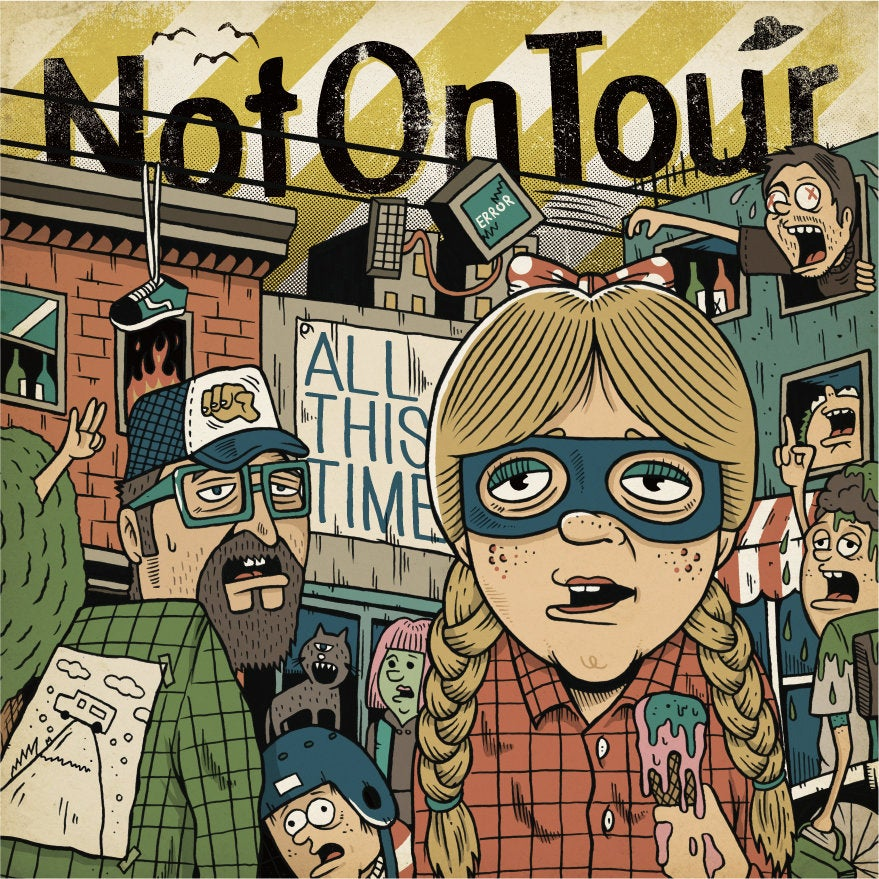 "Image of PRE-ORDER NOW! LADV117 - NOT ON TOUR ""all this time"" LP REISSUE"