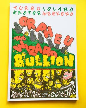 Image of ORPHEU/BULLION party poster