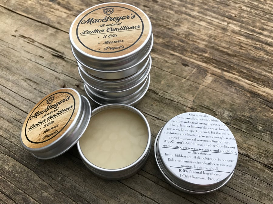 Image of MacGregor's All Natural Leather Conditioner