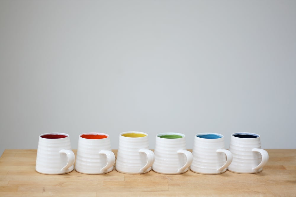 Image of Rainbow Mug - Medium