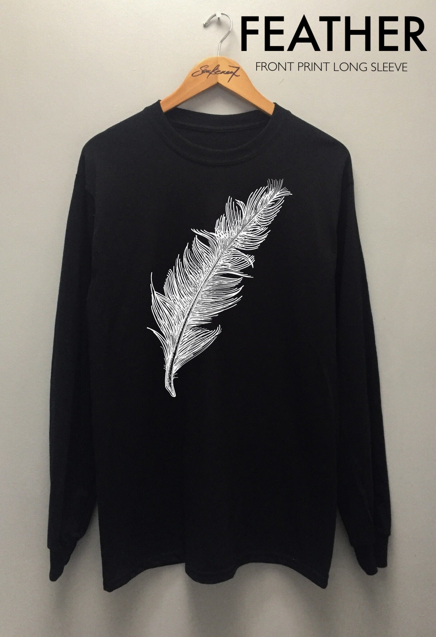 Image of FEATHER HOODIE  | LONG SLEEVE