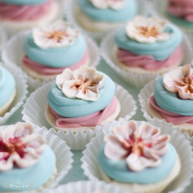 Image of Blossom Mini Cupcake Cold Process Soap Summer Preorder