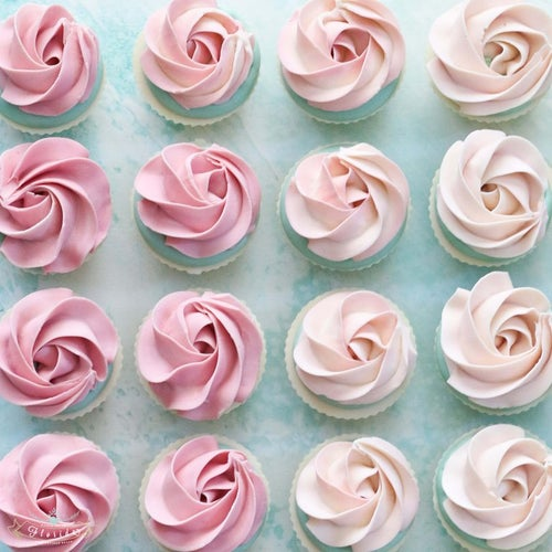 Image of Mini Rosette Cupcake Cold Process Soap Summer Preorder