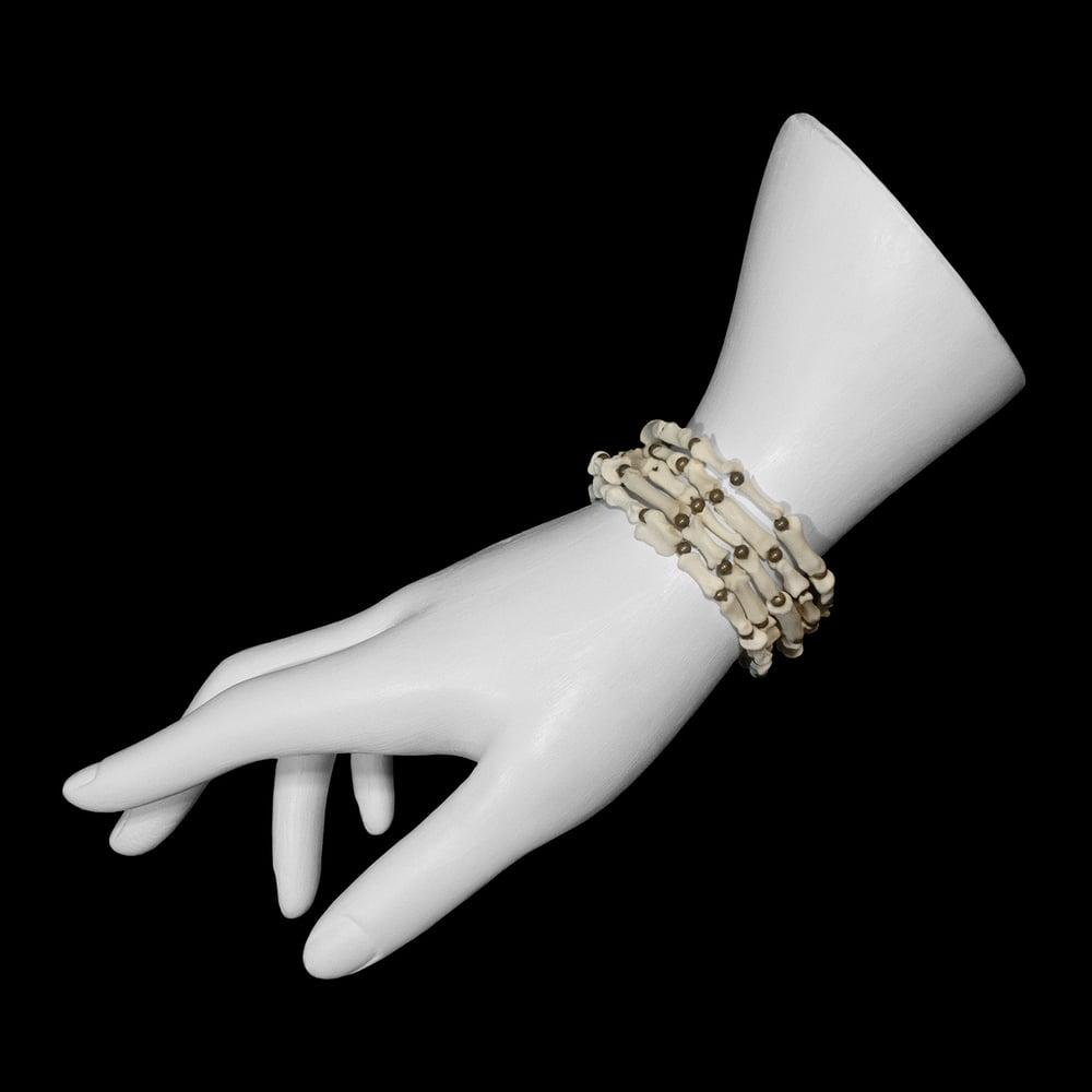 "Image of ""Sarki"" Multi-Species Foot Bone Bracelet"