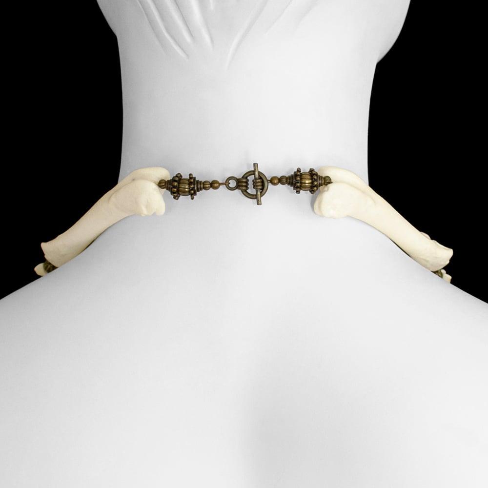 """Image of """"Ishanta"""" Coyote Bone Necklace"""