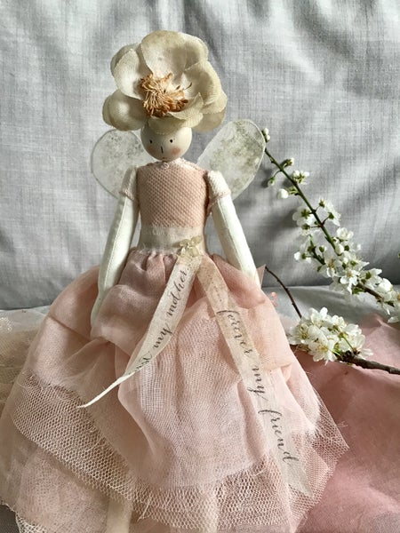 Image of Mother's Day fairy- dusky pink