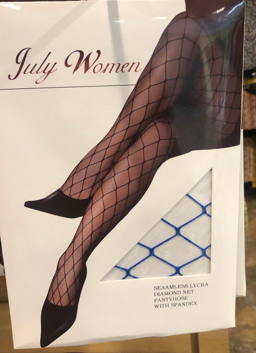 """Image of """"Blueberry"""" Fishnet Stockings"""