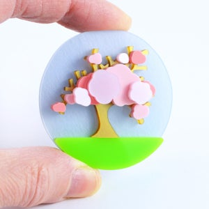 Image of Cherry Blossom Brooch