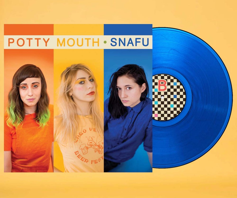 "Image of ""SNAFU"" LP (BLUE VINYL) + DIGITAL"