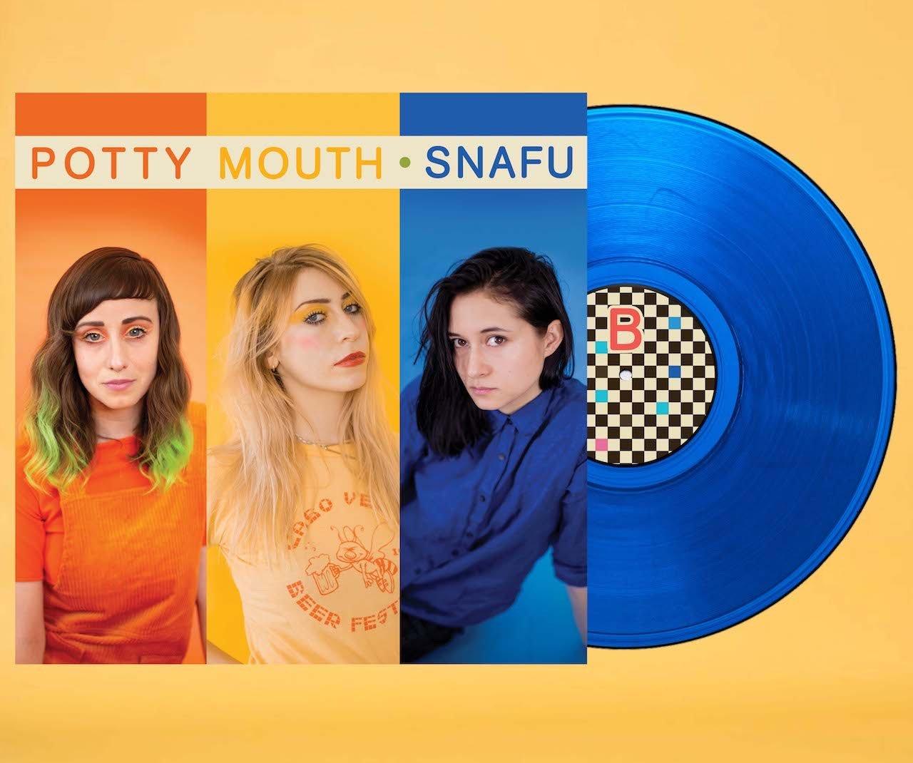 """Image of """"SNAFU"""" LP (BLUE VINYL) + DIGITAL"""