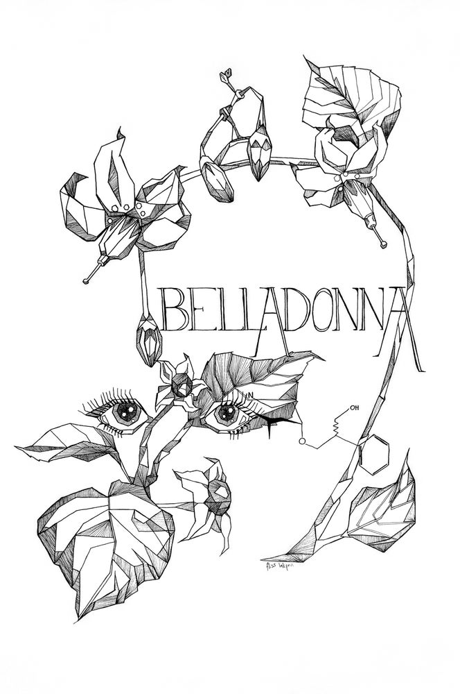 Image of Belladonna Fine Art Print