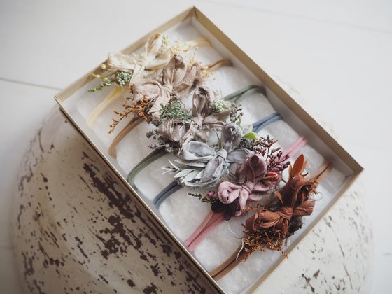 Image of PRE ORDER Neutral rustic bows collection