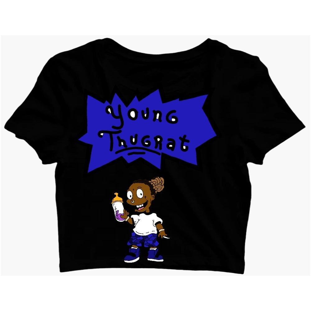 Image of Crop Young Thugrat Tee