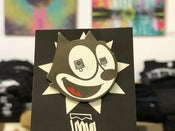"Image of Felix ""Cattin Off"" Enamel Pin"