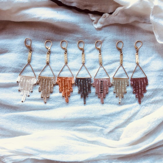 Image of NEWPORT 1922 Waterfall earrings