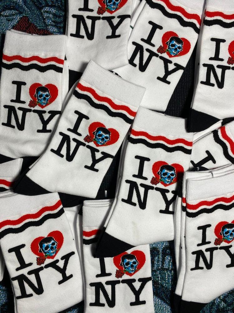 Image of I Love NY crew socks