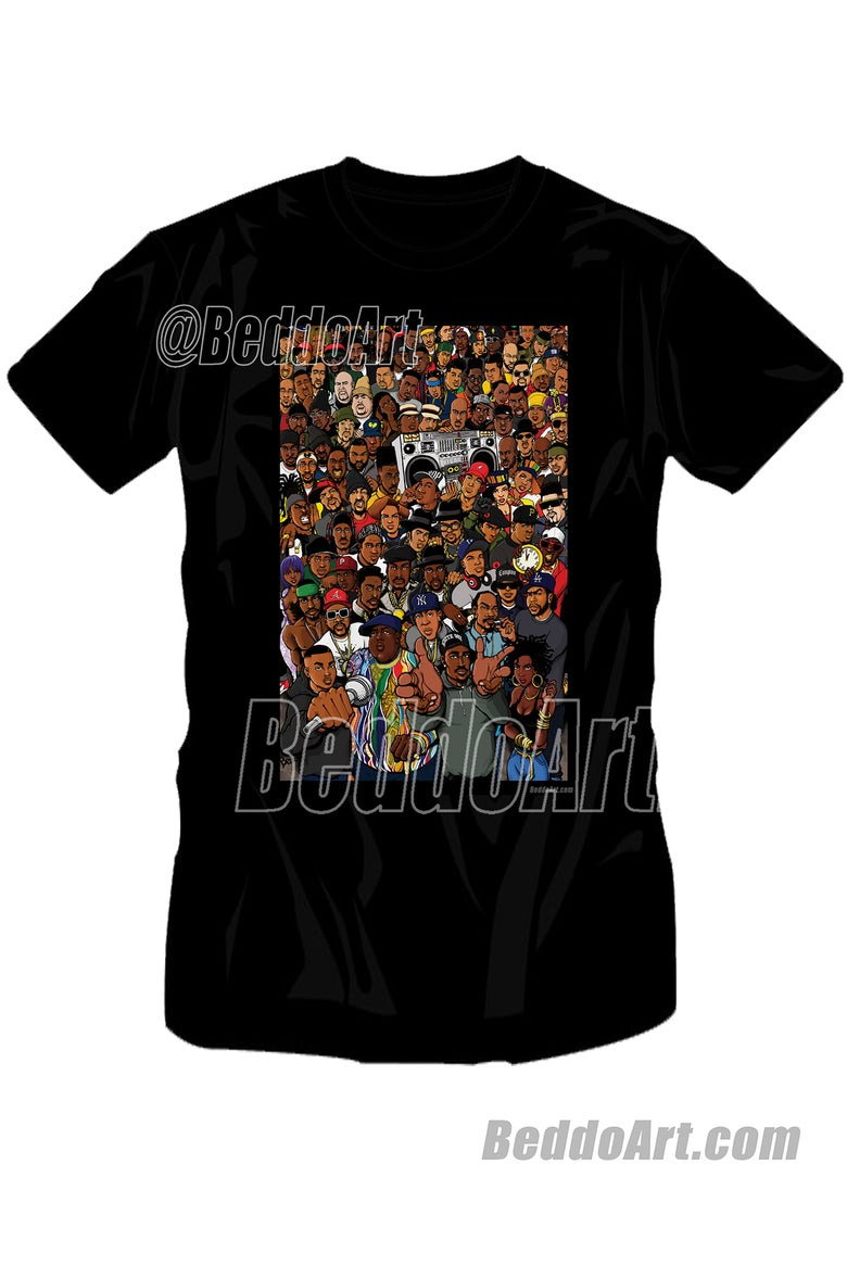 Image of The Golden Age (color version) T-shirt by Beddo