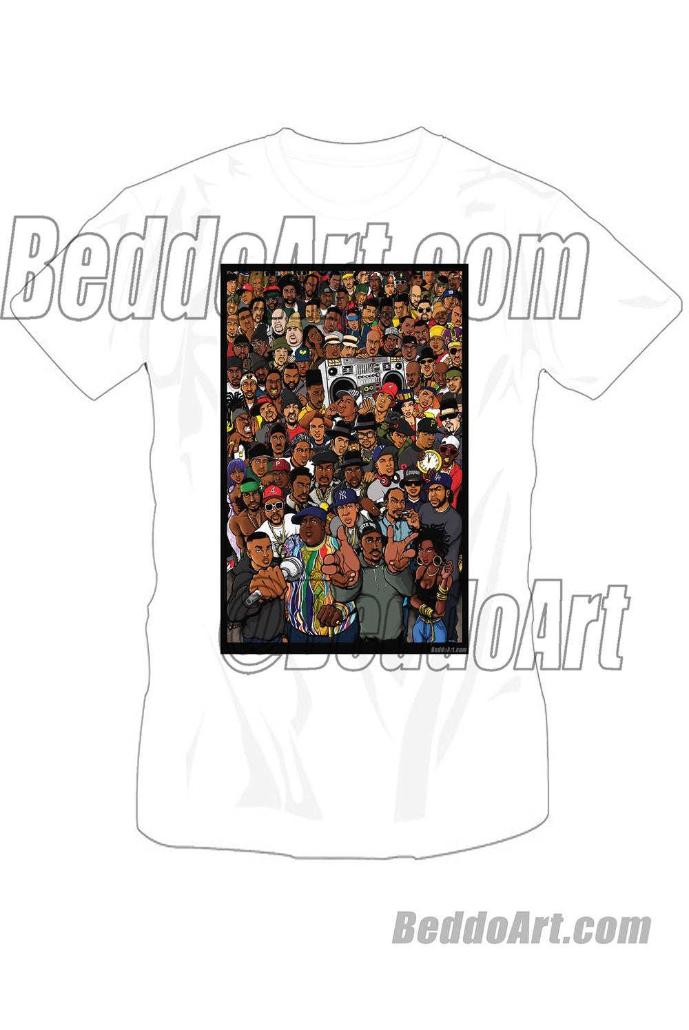 The Golden Age (color version) T-shirt by Beddo