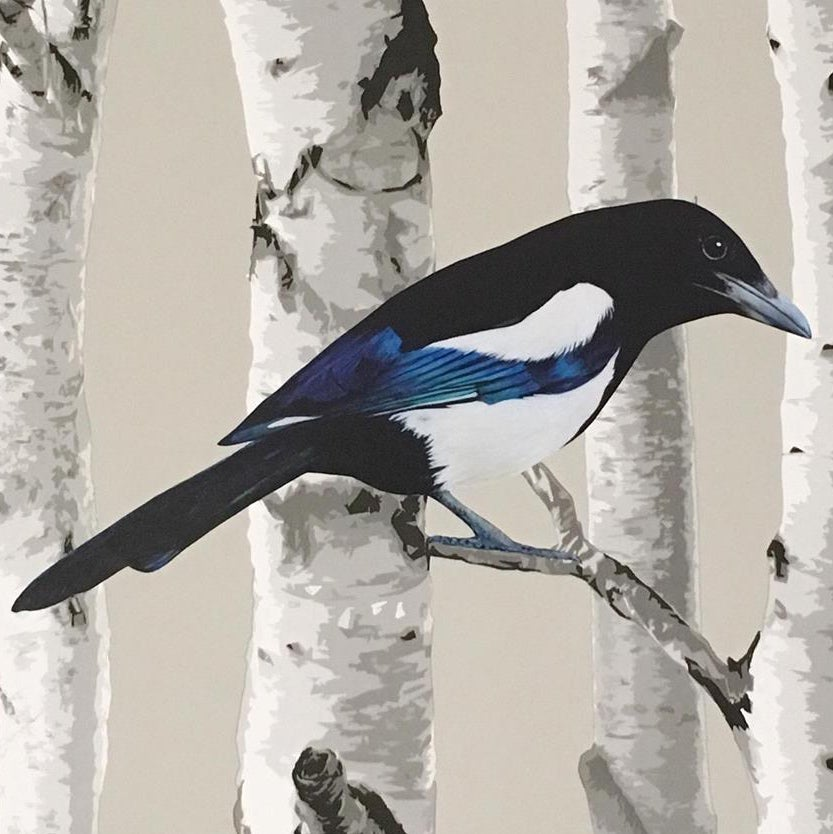 Image of Mordor Magpie ~ Wall sticker decal