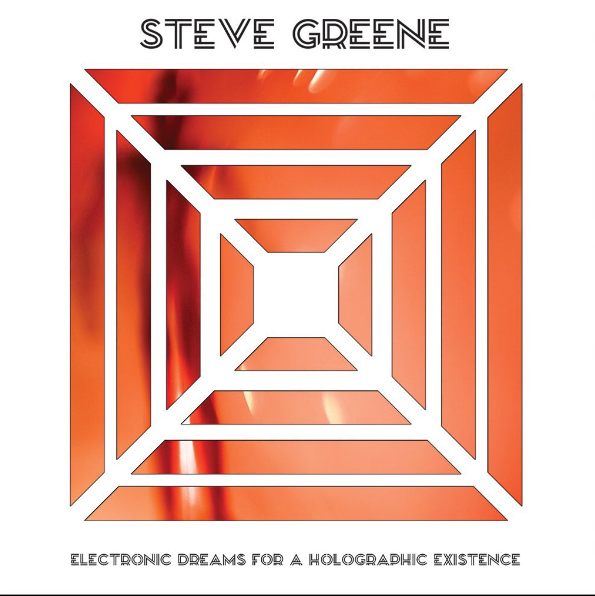 Image of Steve Greene (Voyag3r)- Electronic Dreams For A Holographic Existence LP - WHITE LABEL TEST PRESSING