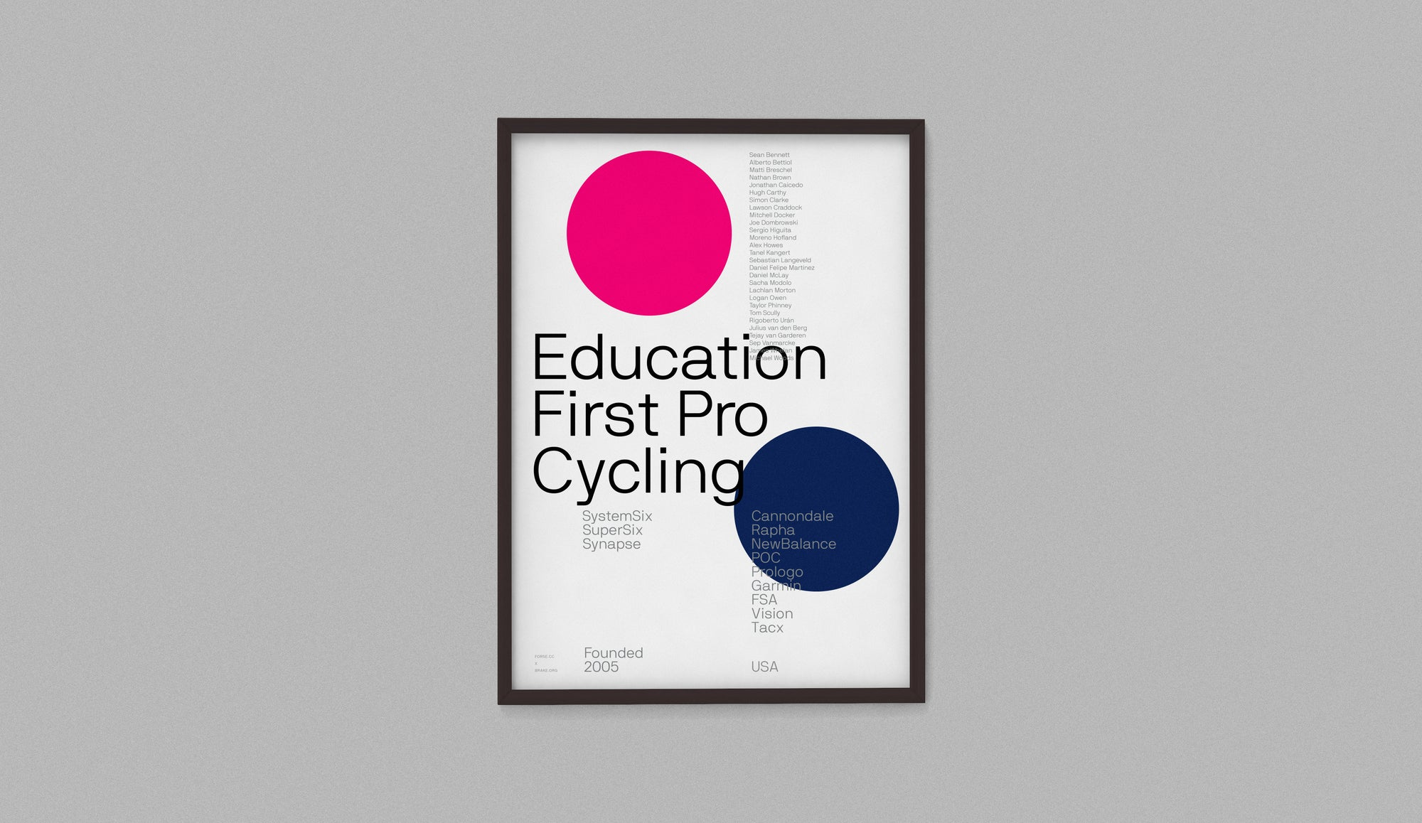 Image of EF Education First Pro Cycling 2019 Team Edition