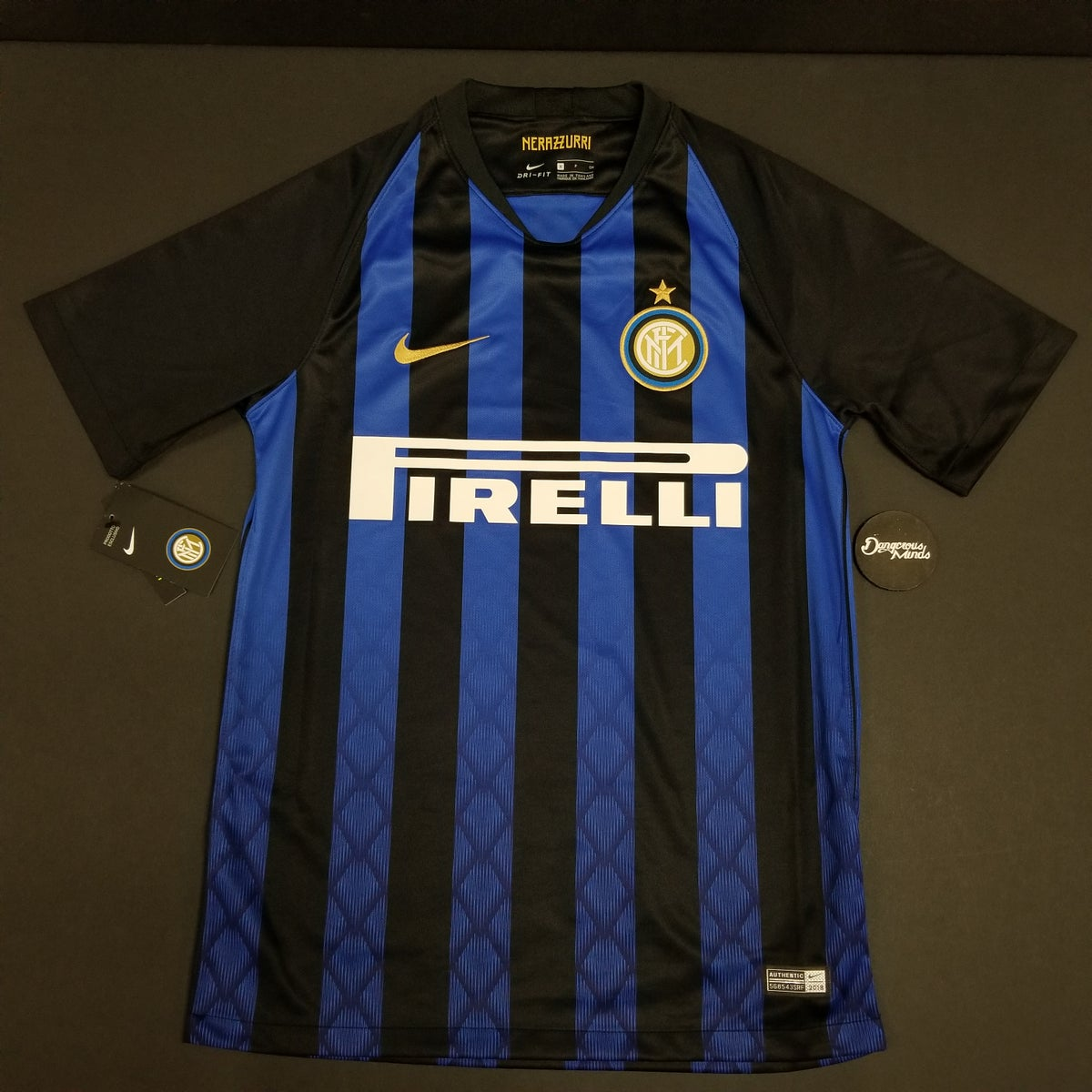 reputable site 4f46c dcc8d Nike 2018-2019 Inter Milan Home Jersey