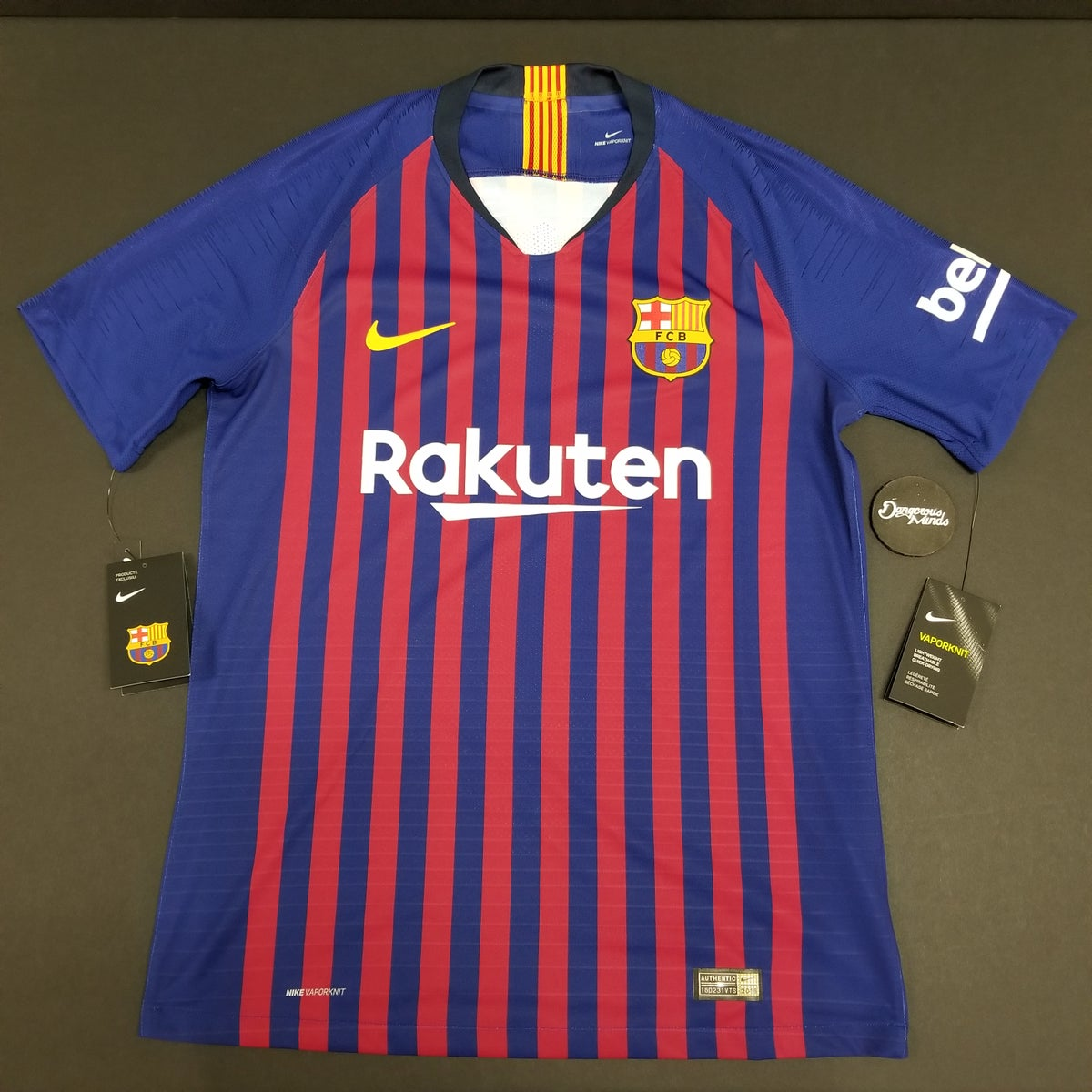 best loved 79bdc 21ccb Nike 2018-2019 FC Barcelona Authentic Home Jersey