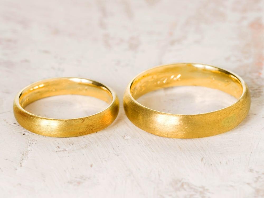 Image of FAIR GOLD eternal rings