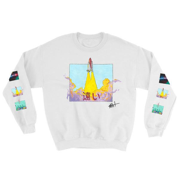 Image of Journey II Sweatshirt White