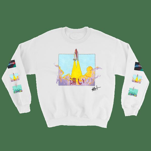 Image of Journey II Sweatshirt White