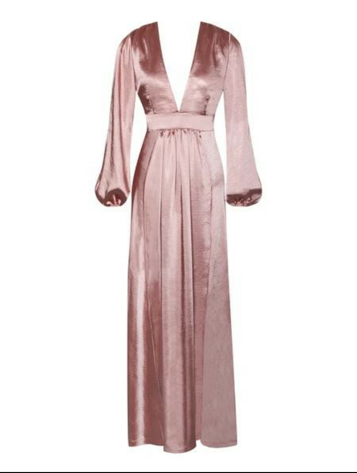 Image of The Satin Gown