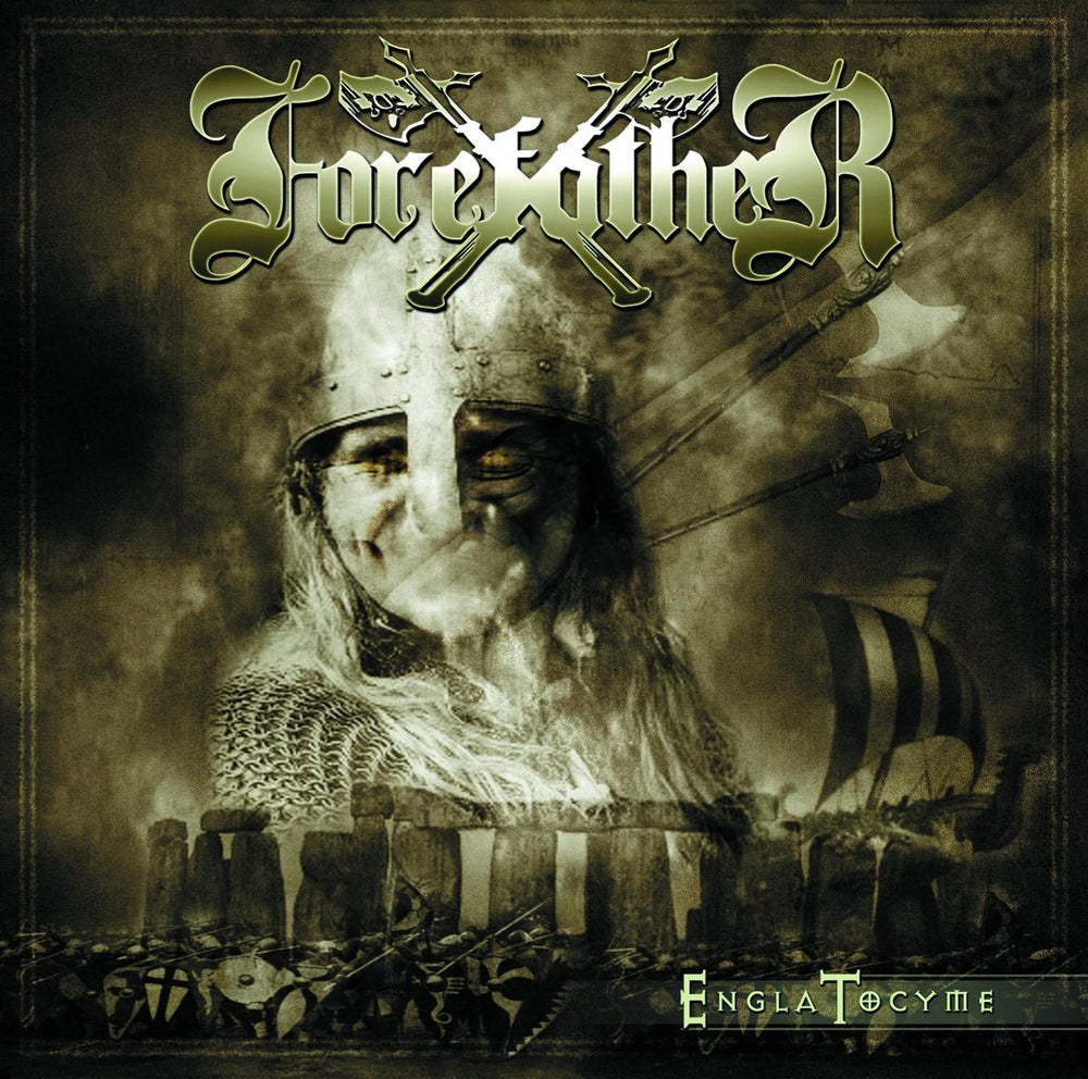 Image of Forefather - Engla Tocyme (2017 re-issue with bonus track) CD