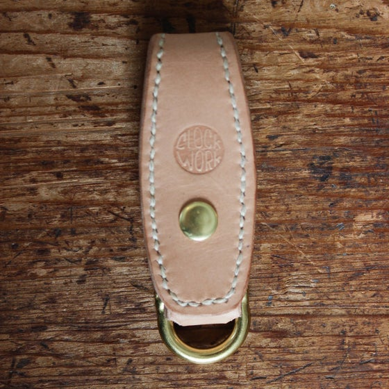 Image of CWMC Belt Loop keychain *natural