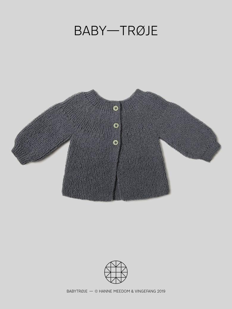 Image of Opskrift / baby—trøje