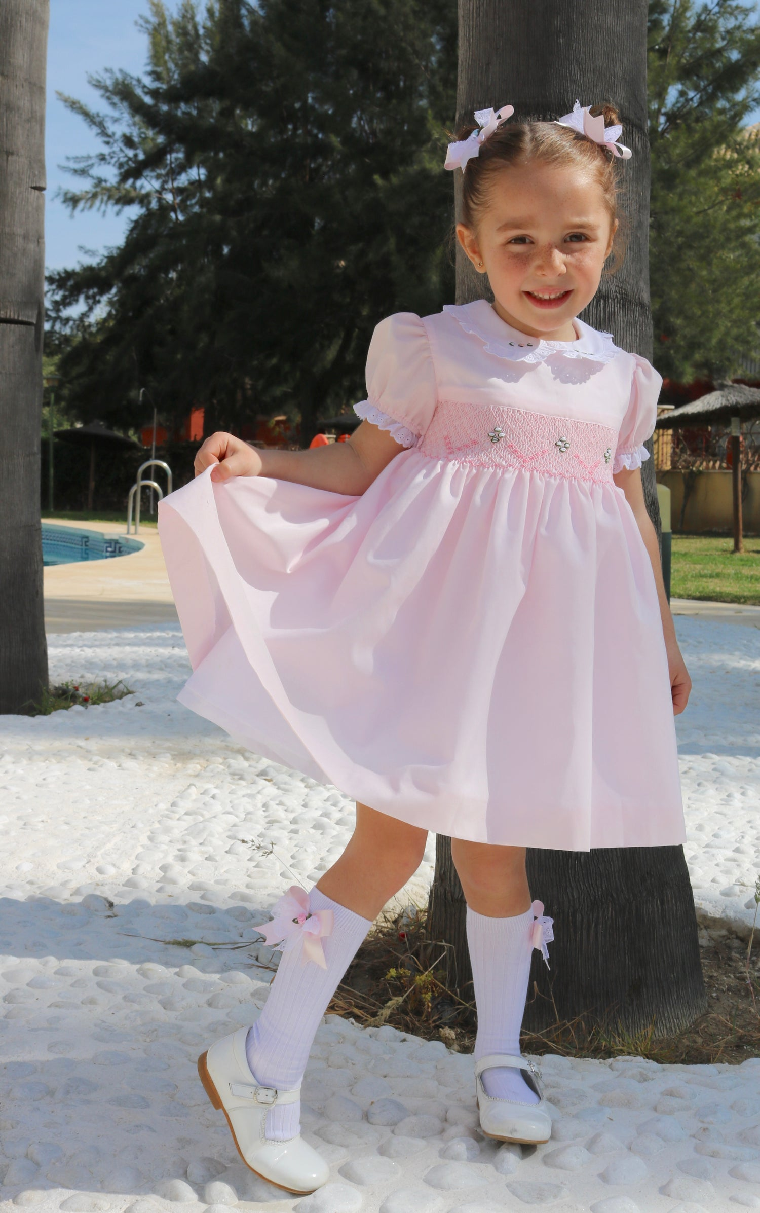 """Image of Little Ladies """"Gia"""" Smock Puffball"""