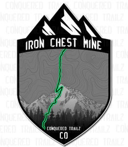 "Image of ""Iron Chest Mine"" Trail Badge"