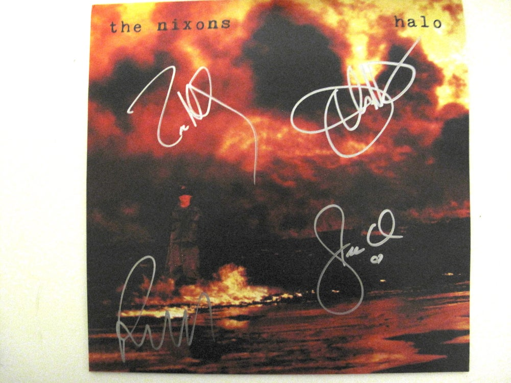 Image of Halo Black Vinyl Signed