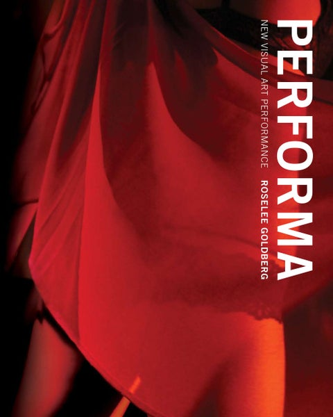 Image of PERFORMA: NEW VISUAL ART PERFORMANCE