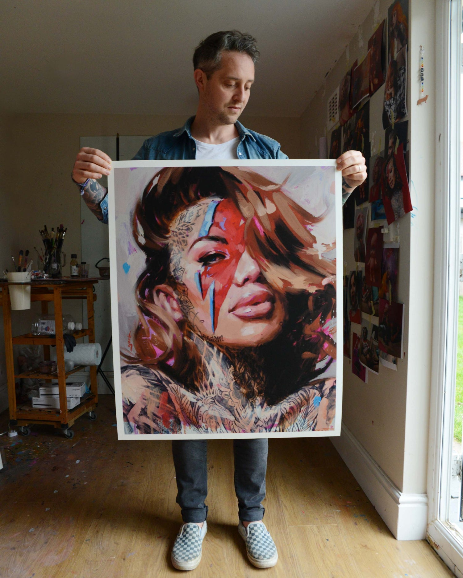 Image of EXTREMELY LIMITED 'LIGHTNING BOLT' Giclee Print
