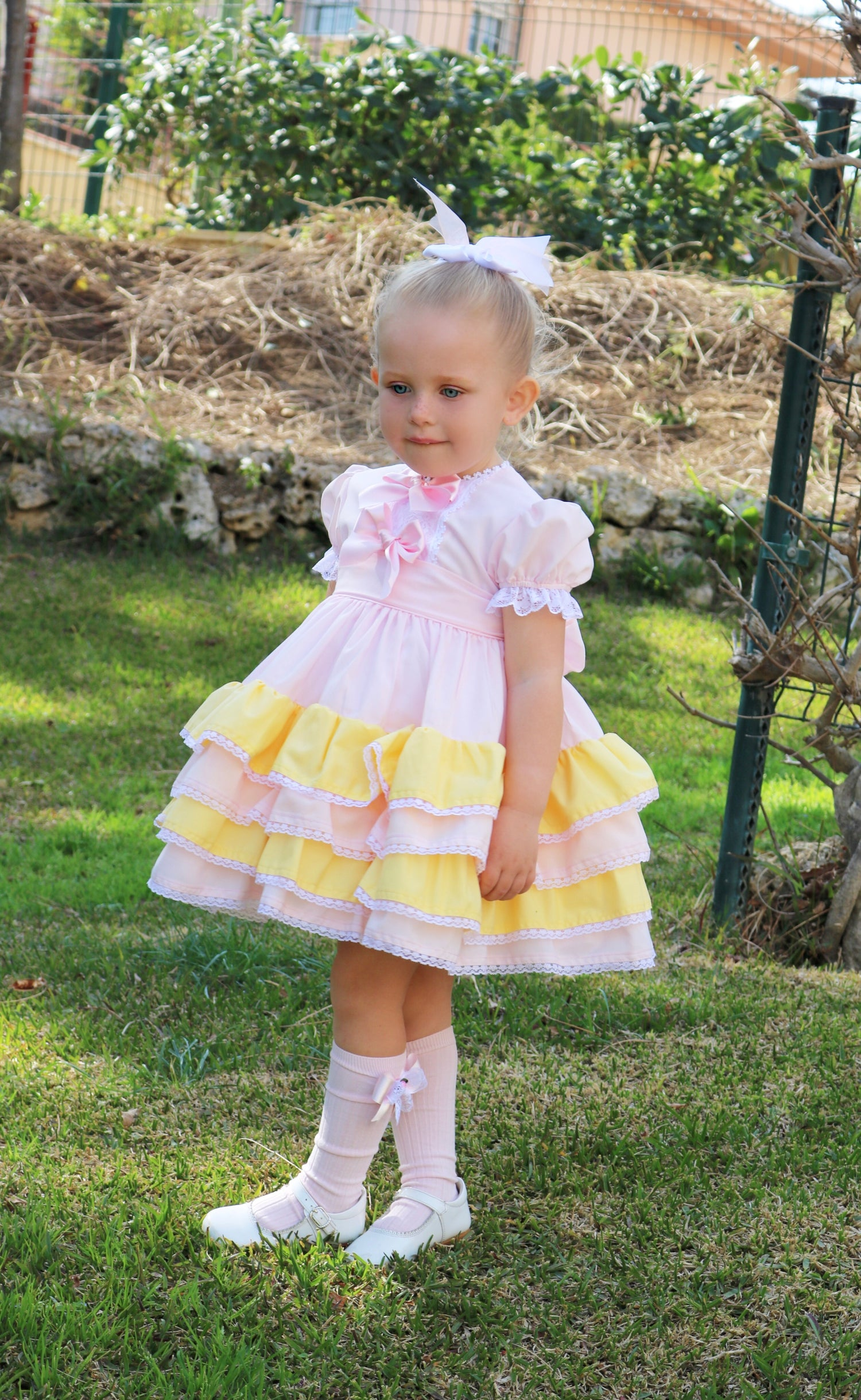 Image of Sonata Sherbert Puffball dress